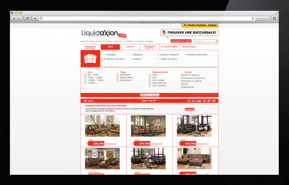 Portfolio projet for Idee commerce en ligne